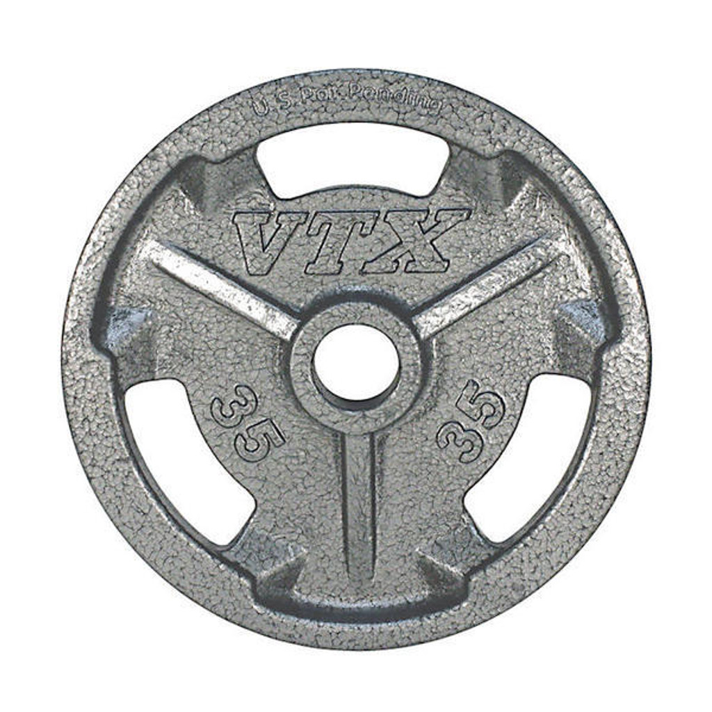 Troy VTX 35 lb. Cast Iron Gym Weight Plate