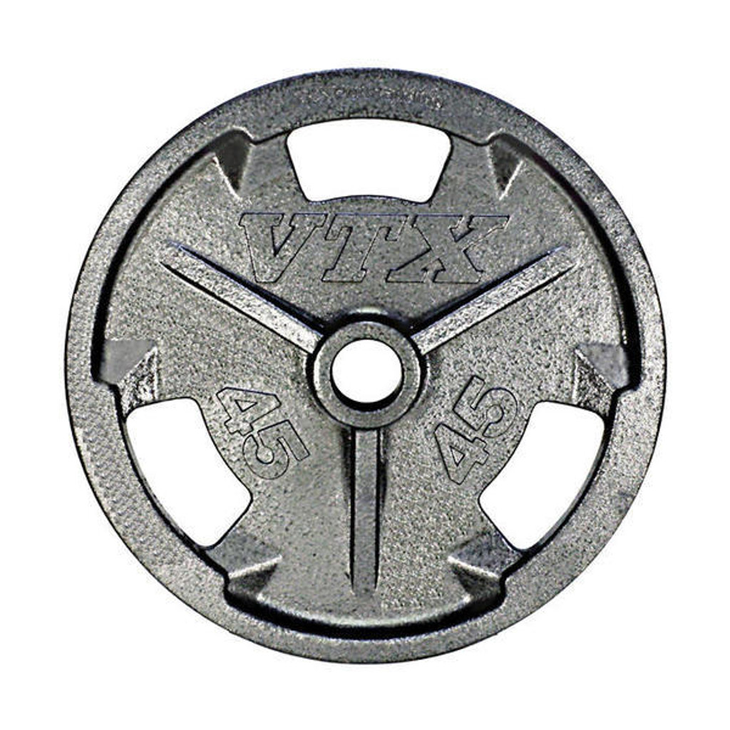 Troy VTX 45 lb. Cast Iron Grip Plate