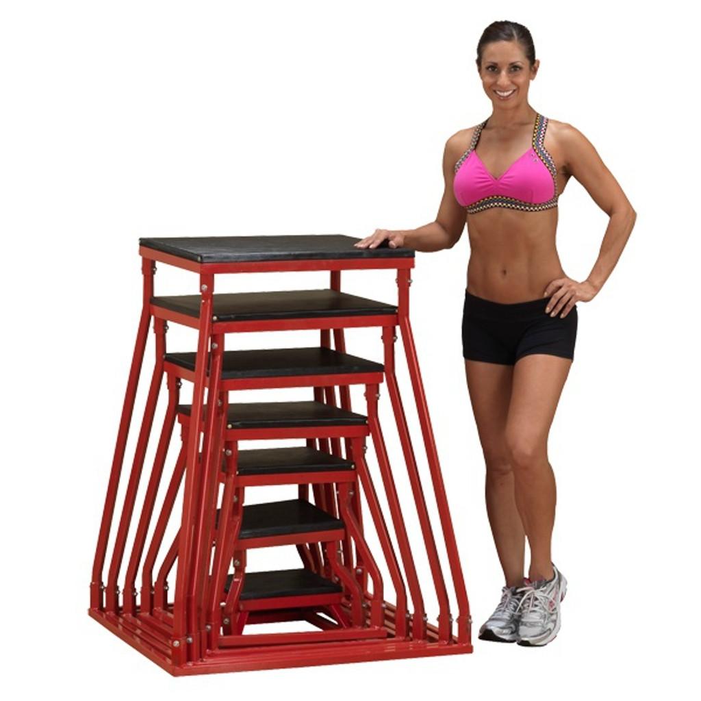 Body Solid Steel Plyometric Boxes
