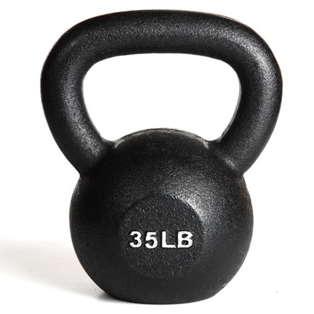 35 lb York Kettlebell Weight