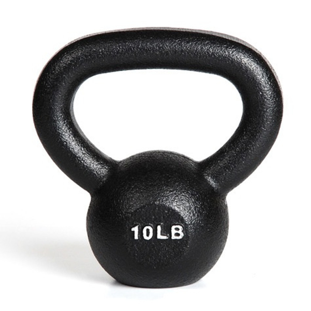 York 10 lb. Weight Lifting Kettlebell