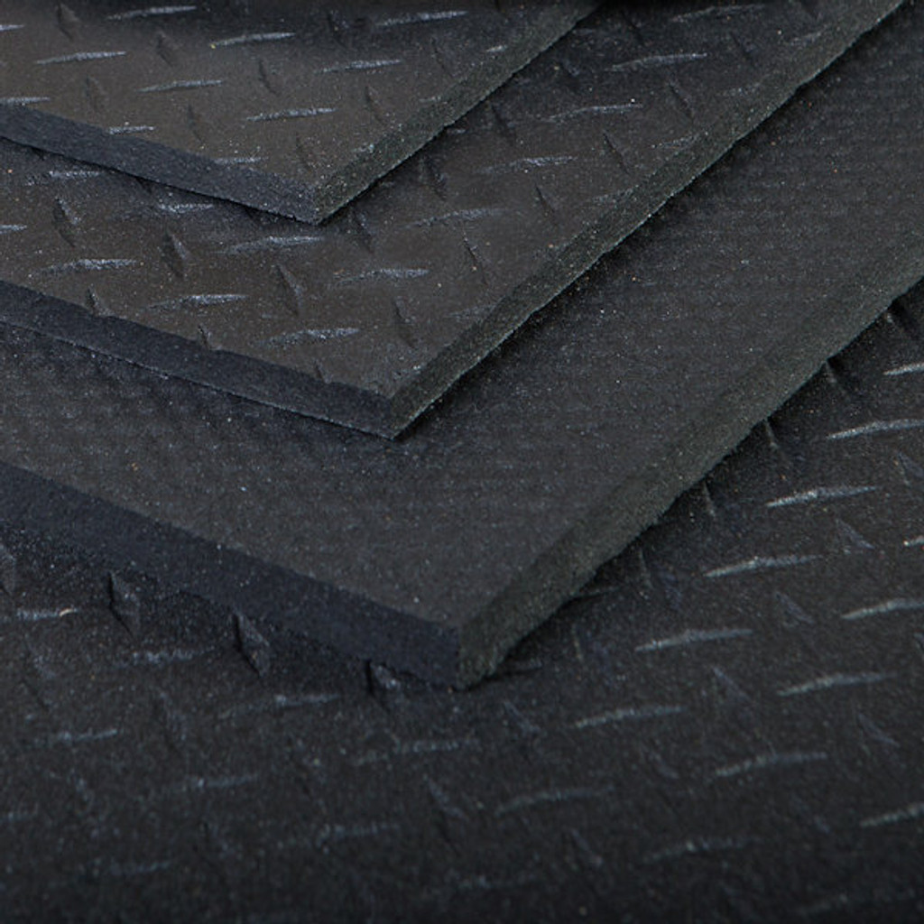 Mats - Rubber - Gym - 4x6 - Supermats