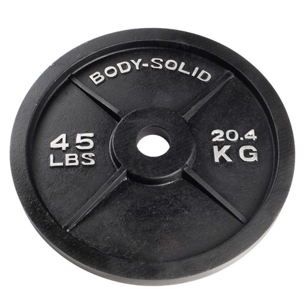 Body Solid 45 lb. Cast Iron Plate
