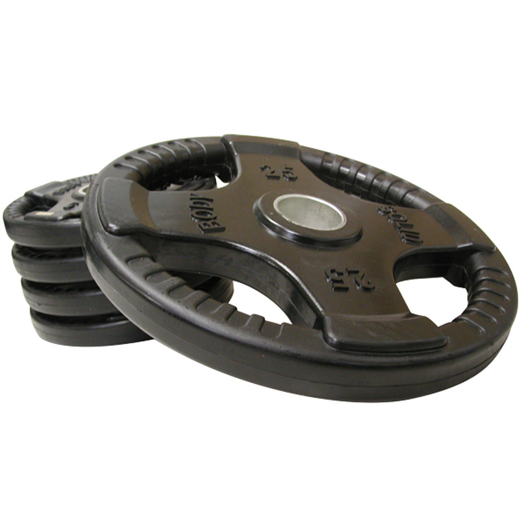 Body Solid Rubber Coated Plates