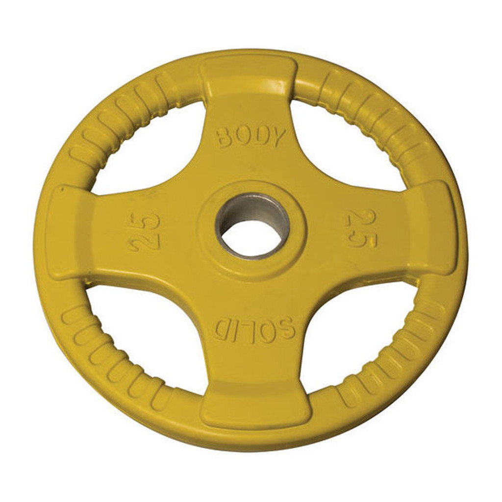 25 lb. Body Solid Rubber Coated Plate