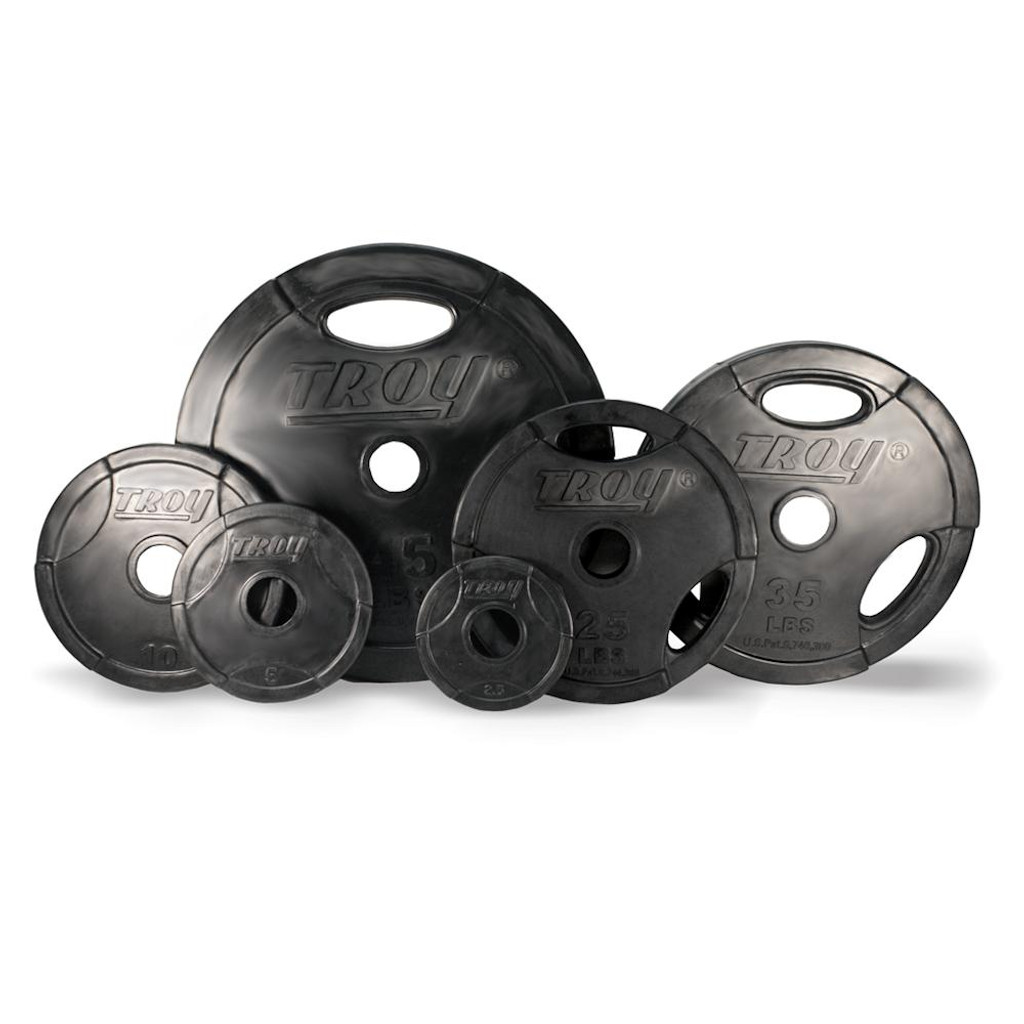 Troy Barbell GO-R Rubber Coated Grip Plates