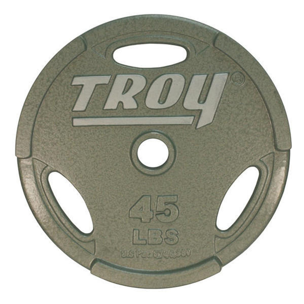 45 lb. Troy Barbell GO Cast Iron Grip Plate
