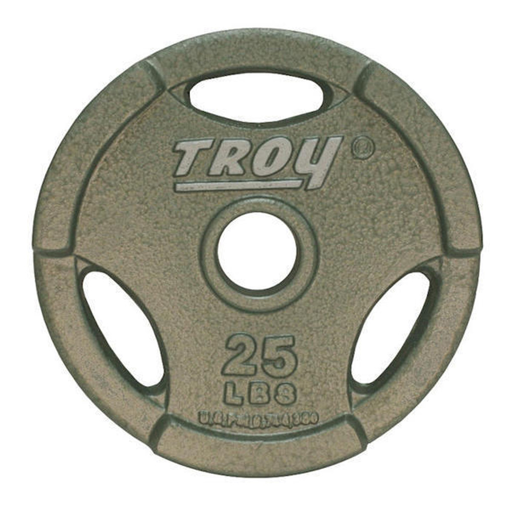 25 lb. Troy Machined Olympic Plate