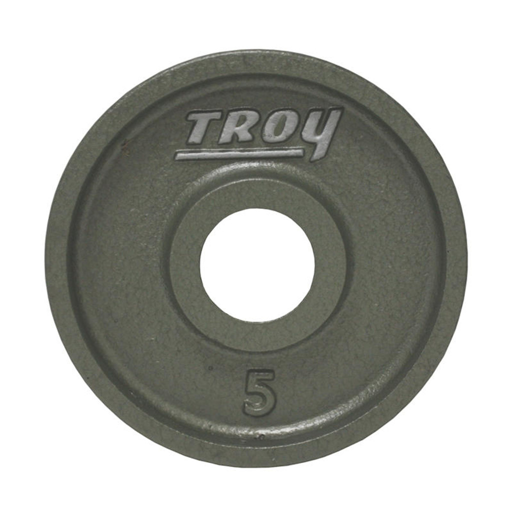 5 lb. Troy Cast Iron Olympic Plate