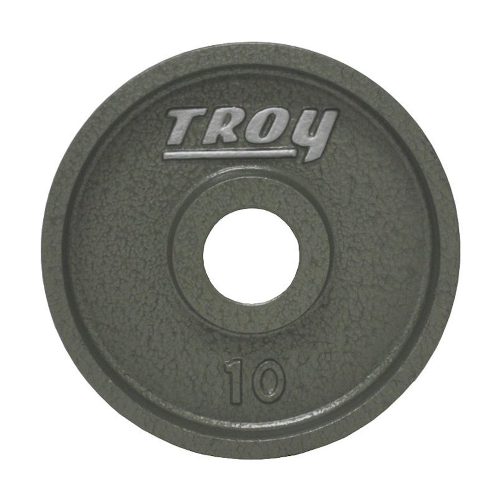 10 lb. Troy Cast Iron Olympic Plate