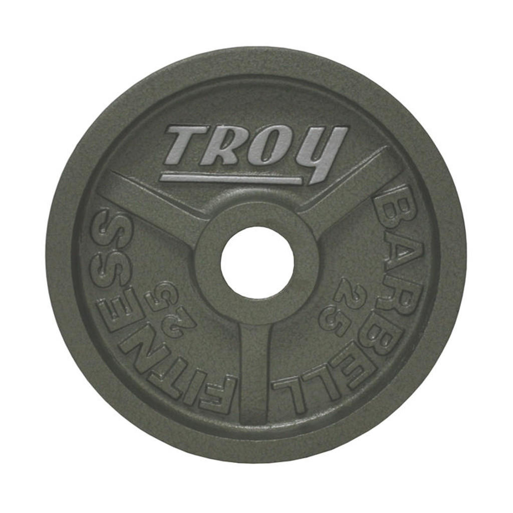 25 lb. Troy Barbell Wide Flange Plate