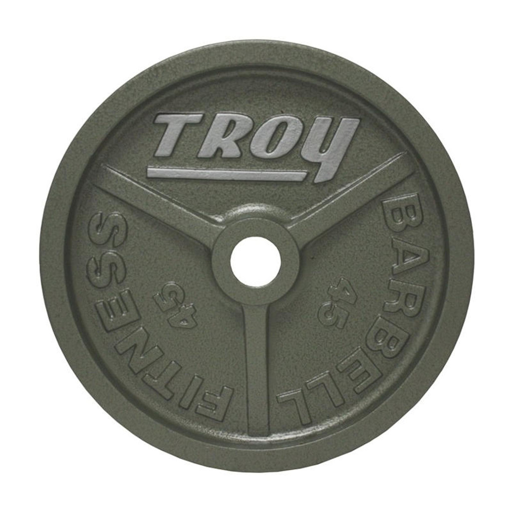 Troy 45 lb. Machined Weight Plate