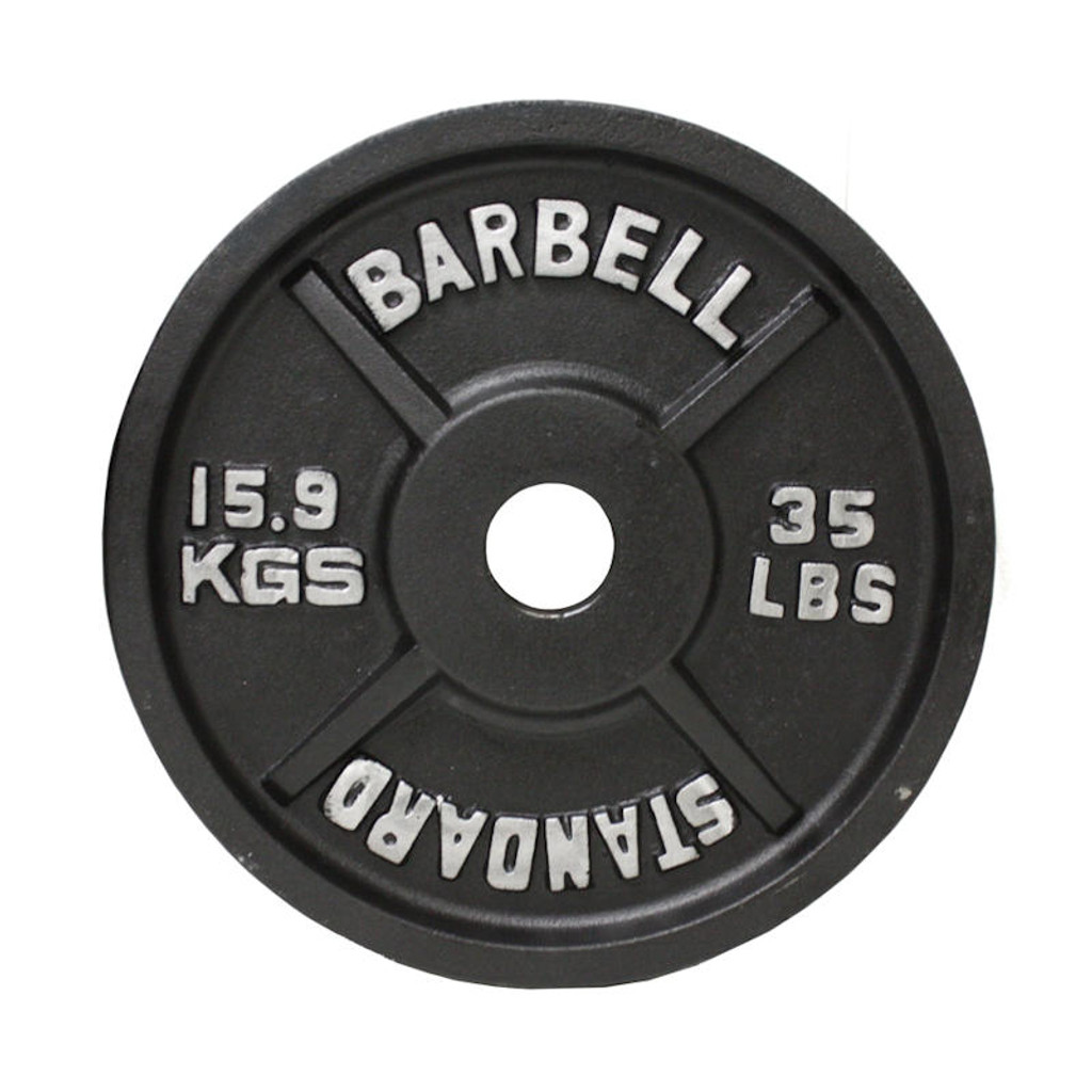 Troy USA Sports 35 lb. Standard Olympic Plate