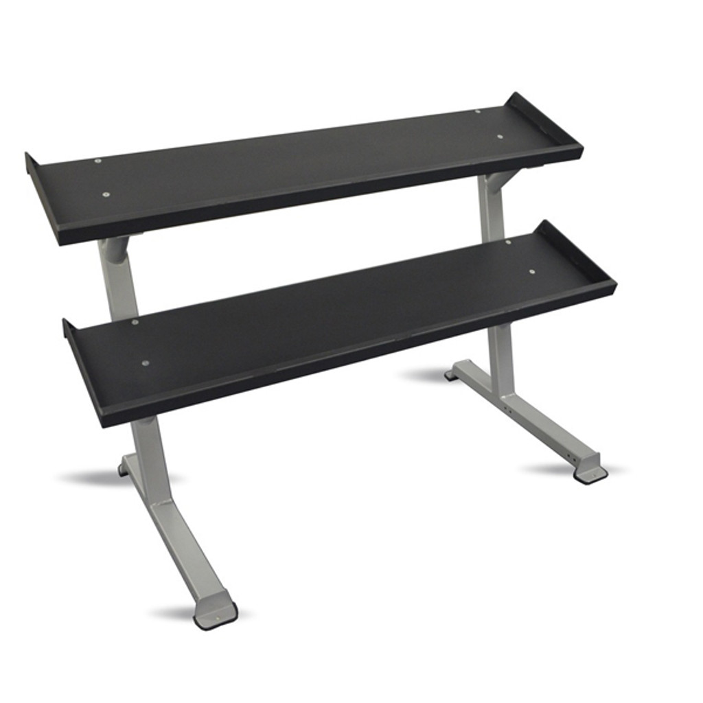 Inflight Fitness 2-Tier Dumbbell Shelf Rack