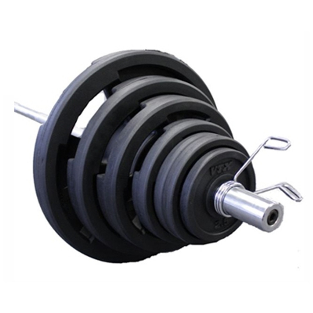 Troy VTX Rubber Coated Olympic Weight Set