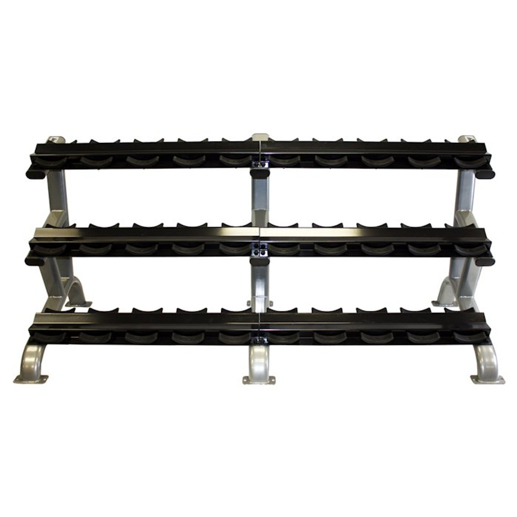 Troy 3-Tier Commercial Dumbbell Rack