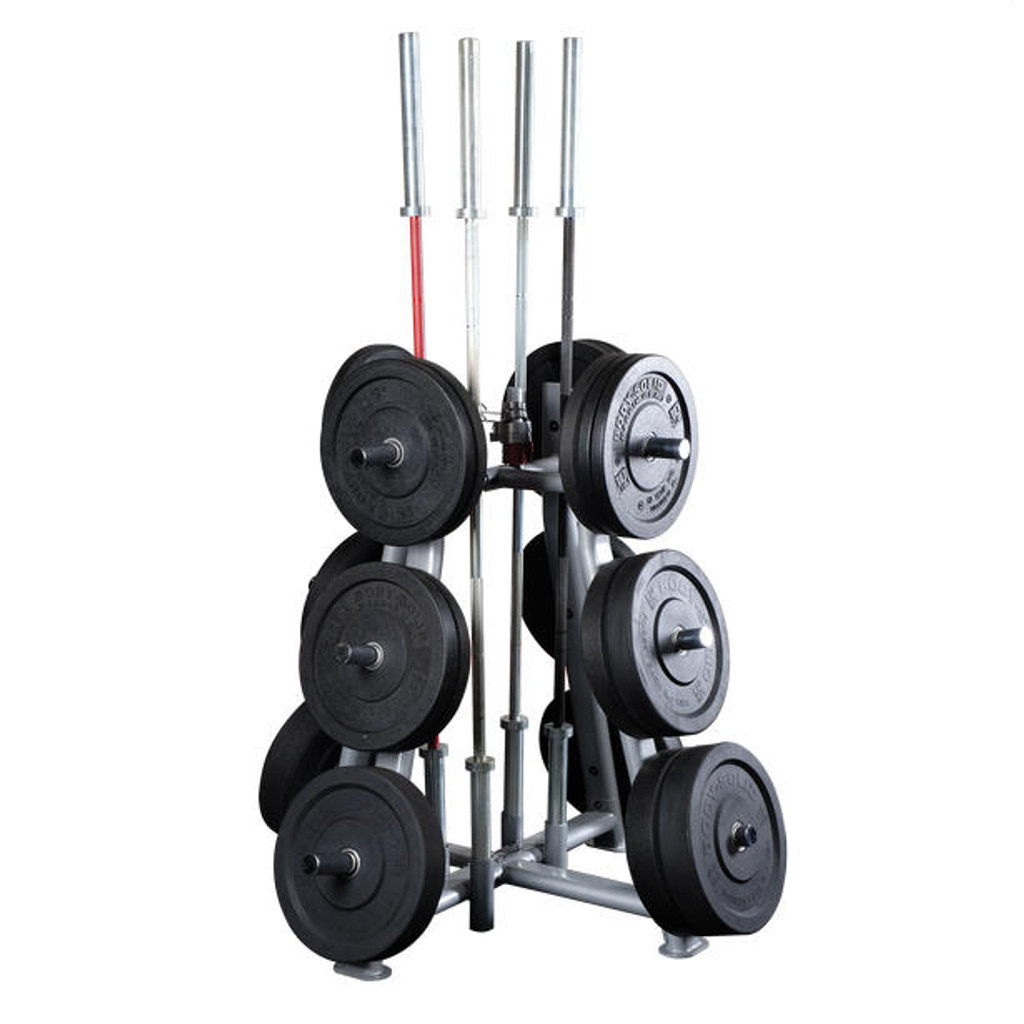 Body Solid Pro Weight Tree with Bar Holders
