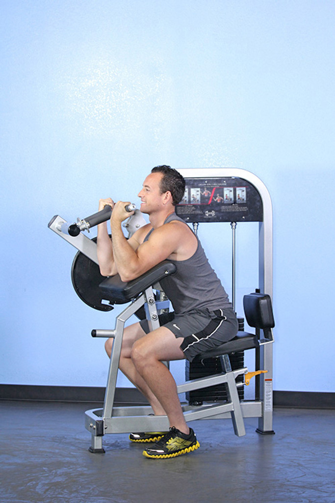 MuscleD Commercial Bicep/Tricep Combo Machine