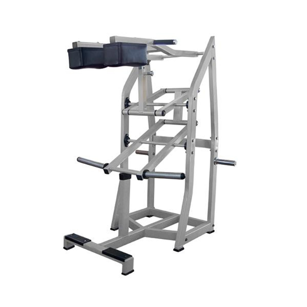 MuscleD Plate Loaded Commercial Standing Calf Raise Machine