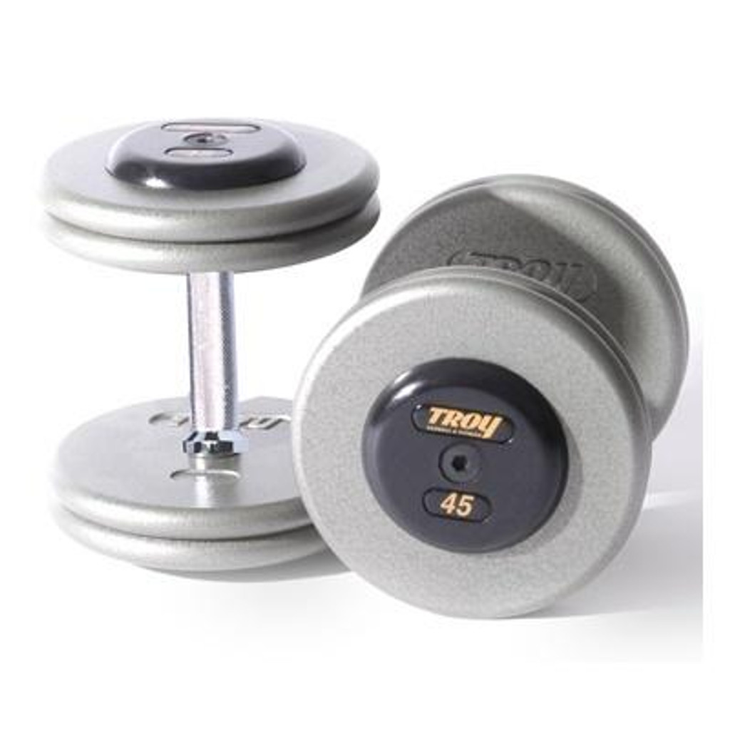 Dumbbells - Pro Style - Cast Iron - Troy Barbell