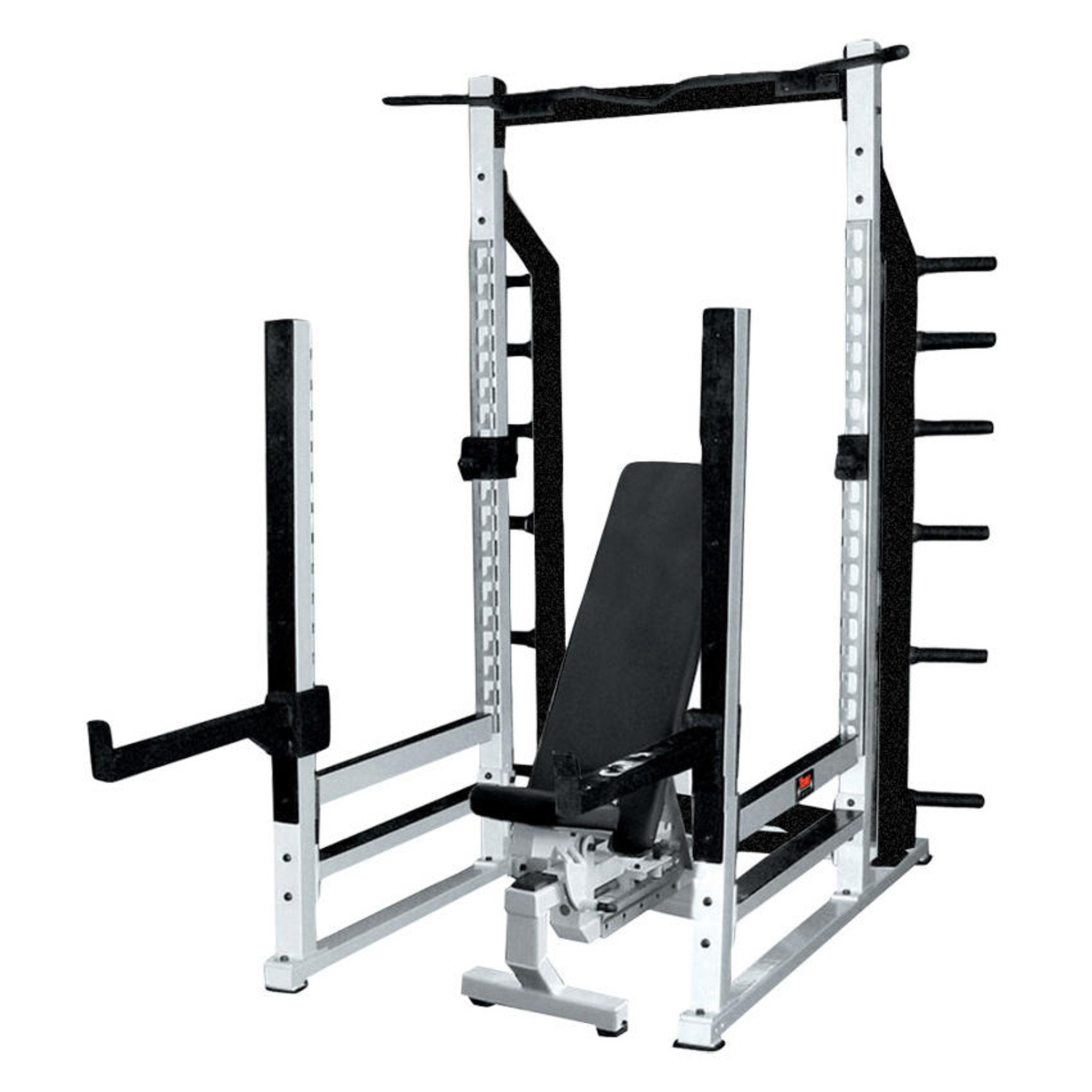 sts commercial multi power rack york gtech fitness. Black Bedroom Furniture Sets. Home Design Ideas