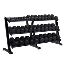 York Barbell Rubber Coated Weight Set