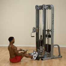 Body Solid Pro Dual Cable Column Machine