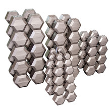 Body Solid Cast Iron Hex Weights