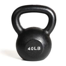 40 lb York Iron Kettlebell