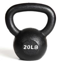 20 lb York Workout Kettlebell
