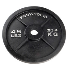 45 lb. Body Solid Cast Iron Olympic Plate