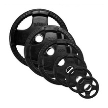 Body Solid Rubber Encased Olympic Plate Set
