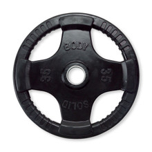 35 lb Body-Solid Rubber Coated Weight Plate