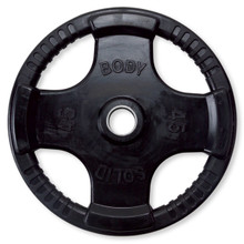 45 lb Body Solid Rubber Encased Grip Plate