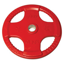 45 lb. Body Solid Colored Rubber Coated Grip Plate