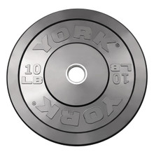 10 lb. - Olympic Bumper Plate - York Barbell Company