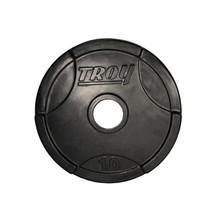10 lb. Troy Rubber Encased Grip Plate