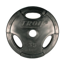 35 lb. Troy Rubber Coated Olympic Plate