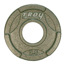 2.5 lb Troy Olympic Weight Plate