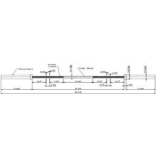 Dimensions - GOB1800 - Weightlifting Bar - Troy VTX