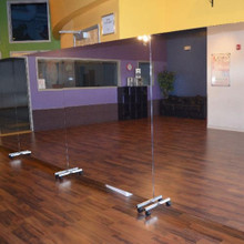 Glassless Rolling Stand Mirrors
