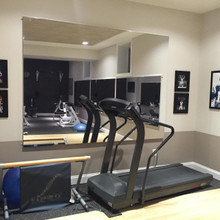 Glassless Fitness Room Mirrors