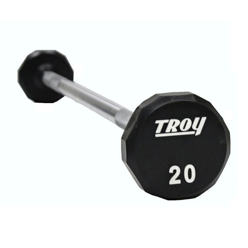 Troy Commercial Urethane Barbell Set