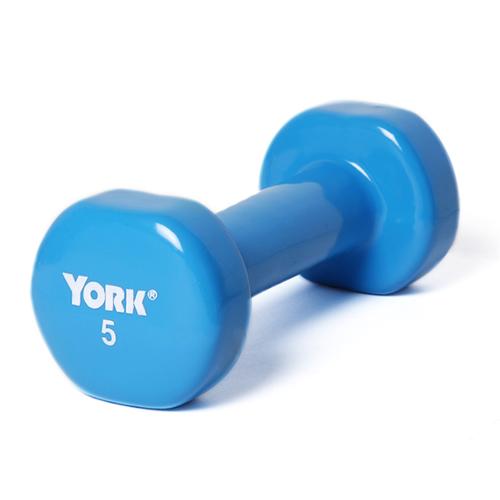 York 5 lb. Vinyl Coated Weight