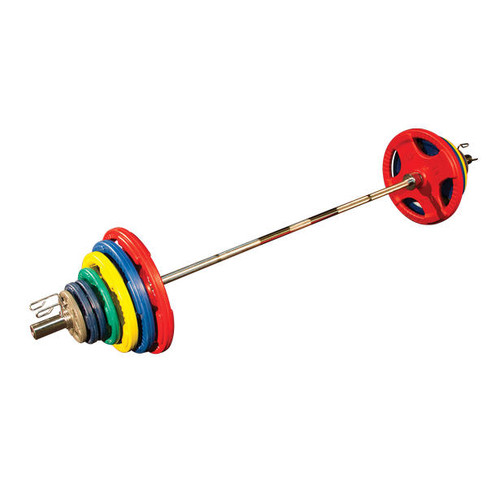 Body Solid Colored Rubber Olympic Set