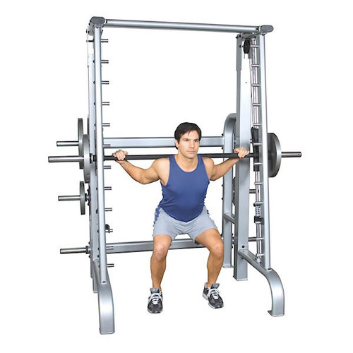 Inflight Counterbalanced Smith Machine