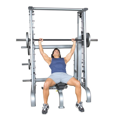 Inflight Plate Loaded Smith Machine