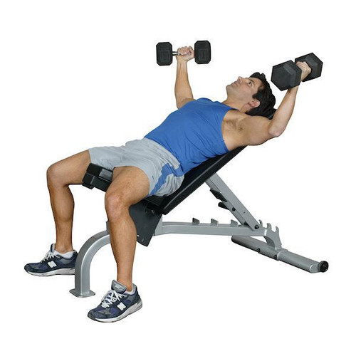 FID Weight Lifting Bench - Commercial - Inflight Fitness