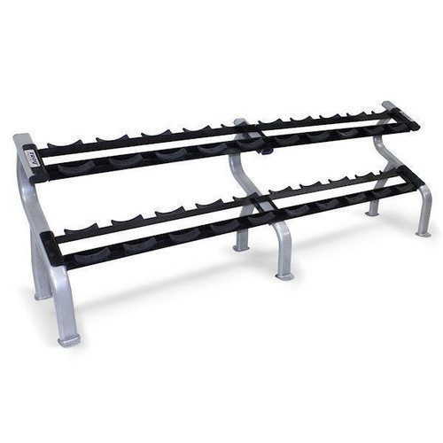 Troy 2-Tier Dumbbell Saddle Rack