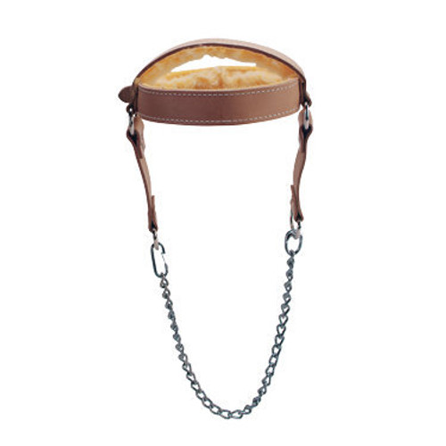 Troy Leather Neck Harness